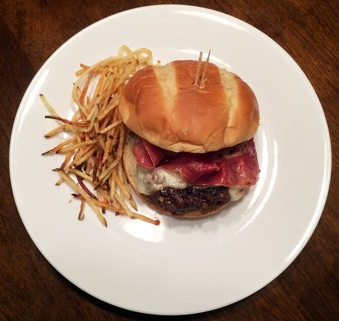 A Perfect Elk Burger Wild Game Cuisine Nevadafoodies